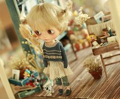 Miss yo 2015 Summer & Autumn - Vintage Hollow Pattern Sweater for Blythe…