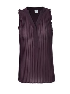 Plum Crazy for this cute blouse from OXMO, now at M@nnequin at Salon DeLange