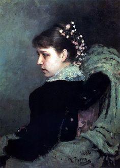 Портрет Т. А. Мамонтовой (Рачинской). 1882. Илья Ефимович Репин