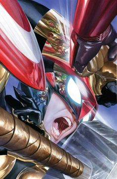 Avengers #3 cover by Alex Ross