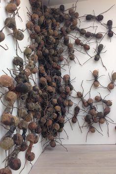 Rafael Gomezbarros Ants Abstract Sculpture, Wood Sculpture, Wall Sculptures, Paper Mache Crafts, Wire Crafts, Muse Art, 3d Street Art, Textile Fiber Art, Weird Art