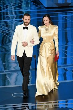 Jamie & Dakota 2017 Oscars
