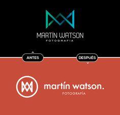 Rebranding Martin Watson by BlackStudio