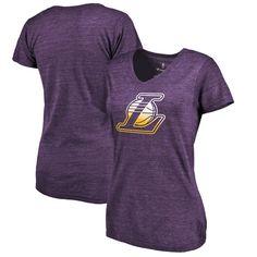 Los Angeles Lakers Fanatics Branded Women's Gradient Logo Tri-Blend T-Shirt - Purple - $29.99