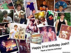 Happy 21st birthday Josh Devine<3
