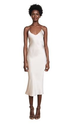 fe4cea61543 The Most Influential Girl in Paris Can t Stop Wearing This Item. Slip  Bridesmaids Dresses15 ...