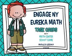 This product is intended to be a companion to Engage NY/ Eureka Math (which are the same). 16 Task Cards to Review Engage NY/ Eureka Math from Module 8: Lesson 11.This product can be used for:        -Math Centers-Task Cards -Early Finishers-Small Group-Interventions to review lessonsI use these as task cards to review each lesson after I have taught the lesson.