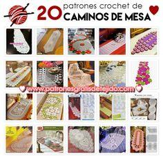 Patrones y tutoriales crochet y dos agujas gratis para descargar Crochet Granny, Crochet Doilies, Square Quilt, Mandala, Blog, Crochet Patterns, Quilts, Projects, Crafts