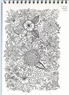 From Doodling to Colouring Manga Naruto, Mandala, Beautiful Handwriting, Doodles Zentangles, Zen Doodle, Art Drawings, Drawing Art, Colouring Pages, Pattern Design
