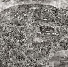 Diorama Maps by Sohei Nishino - tokyo