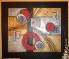Cuadros Abstractos Dipticos Tripticos Texturados 480 Pelauts Picture