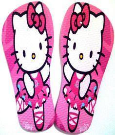 Chinelo Hello Kitty Bailarina.