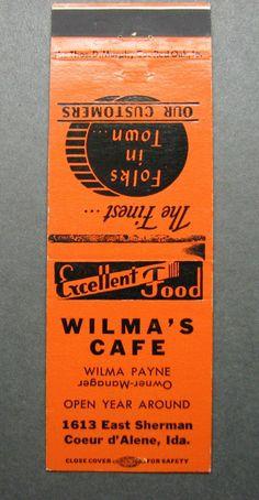 Wilma's Cafe Coeur D'Alene Idaho