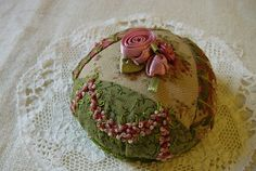 .Vintage pincushion