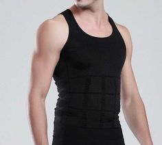 Men's Slimming Body Shaper Under Shirt - The Natural Posture