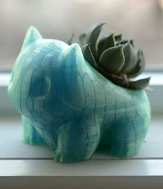 cute little planter for all the Pokemon lovers