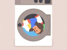 Mete ESTA sustancia en la lavadora. Por qué lo hace es ¡INCREÍBLE! - Para Los Curiosos