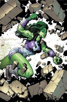 She-Hulk #1 Variant - Ryan Stegman