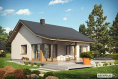 small houses for a family with a child Dream House Plans, My Dream Home, Elmo, Tree Bedroom, Best Tiny House, Weekend House, Exterior Paint Colors For House, Craftsman Style Homes, Facade House