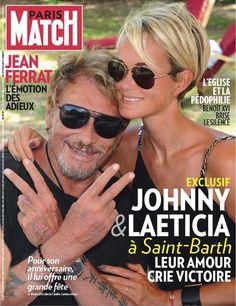 Laeticia Hallyday et Johnny Hallyday