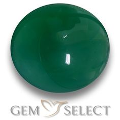 GemSelect features this natural Agate from India. This Green Agate weighs 6.7ct and measures 13.1 x 11.6mm in size. More Oval Cabochon Agate is available on gemselect.com #birthstones #healing #jewelrystone #loosegemstones #buygems #gemstonelover #naturalgemstone #coloredgemstones #gemstones #gem #gems #gemselect #sale #shopping #gemshopping #naturalagate #agate #greenagate #ovalgem #ovalgems #greengem #green Green Gemstones, Loose Gemstones, Natural Gemstones, Agate Gemstone, Gemstone Colors, Buy Gems, Green Agate, Gem S, Shades Of Green
