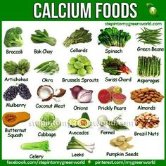 Calcium enriched food for adults