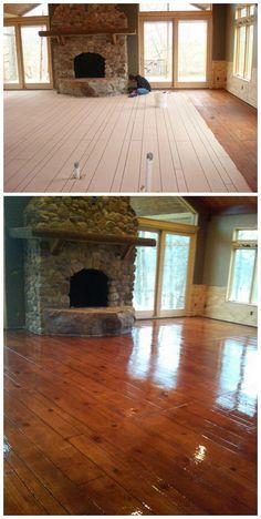 Find a Decorative Concrete Contractor Basement Flooring, Basement Remodeling, Flooring Ideas, Stained Concrete Flooring, Painting Concrete Floors, Concrete Wood Floor, Wood Stamped Concrete, Concrete Staining, Concrete Coatings