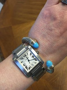 New David Yurman with turquoise to go with my Tank!
