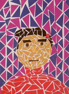 Child's Self Portrait