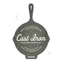 Cast Iron Design Company Logo Stamp