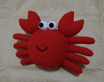 Amigurumi Crochet Pattern - Crab  Pattern No.12