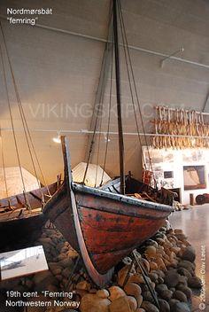 """Geitbåter - Nordmørsbåter - """"Geit boat"""" - Nordmøre boats, northwestern Norway - Vikingskip og norske trebåter"""