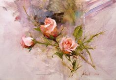 rosas para pintar