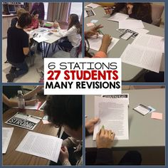 REVISION LEARNING STATIONS