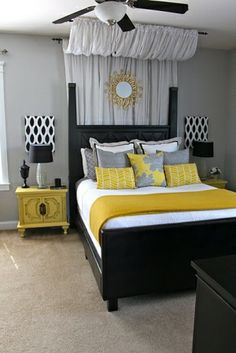 Canopy Over Bed - using curtains by keisha