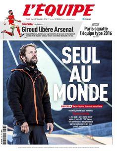 L'Équipe - Mardi 27 Décembre 2016 - N° 22804