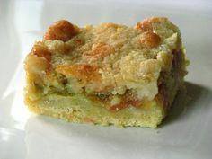 CakeWalk: Rhubarb Kuchen or in Which I Divulge Buttery Rhubarb Secrets