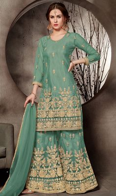 81130f8a3d 30 Best Latest Fashion Designer Palazzo Suits images in 2019 ...