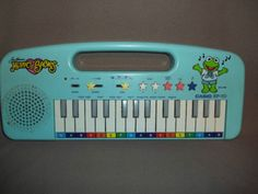 My Muppet Babies keyboard...tons of fun for hours :)