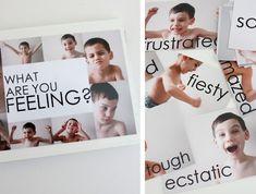 Photobook ideas: feelings book