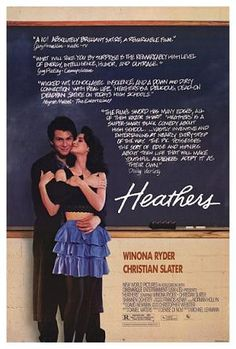 Heathers - 1989 / with PK in assigned seats - we loved it / Fall 1989, London, England