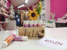 Bálsamos labiales de la marca Lila Cosmetics. Son 100% naturales y 94% de ingredientes ecológicos. Los tienes en www.ayelenbio.com