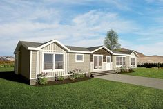 3 bedroom, 2 bathroom home is available for immediate purchase. Come see this beautiful home Mobile Home Porch, Mobile Home Exteriors, Mobile Homes, Manufactured Homes For Sale, Clayton Homes, Home Id, New Community, Modular Homes, My Dream Home