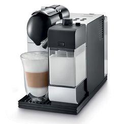 DeLonghi EN 520.S Nespresso Lattissima+ / Milchschaum-System / Ice Silver