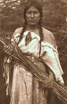 The Rush Gatherer - Arikara, 1908 - photo by Edward Curtis Native American Beauty, Native American Photos, Native American Tribes, American Indian Art, Native American History, American Indians, Blackfoot Indian, Native Indian, Native Art