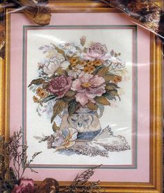 Candamar Designs Something Special Counted Cross Stitch Kit FLORAL VASE 50626 #CandamarDesigns