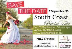 SA Bridal Fair - Xmas Bridal Fair at The Docklands - Durban. Save The Date, Wedding Planner, Coast, Flower Girl Dresses, Bridal, Wedding Dresses, Boathouse, September 2013, Events