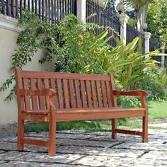 Ellsworth 5-ft. Garden Bench - Outdoor Benches at Benches