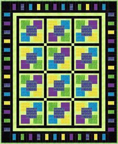 NQD 2012 Five Square Quilt « Justquiltin with Denise Russart