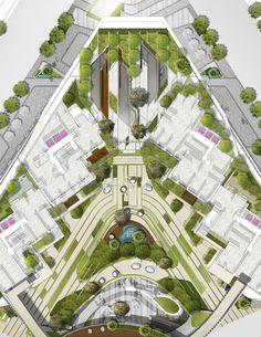 Residential landscape design ( M_Oplado 2015/ Metrostudio)